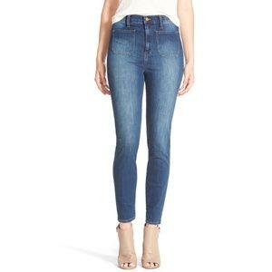 Madewell | High Waisted Sailor Skinny Jeans
